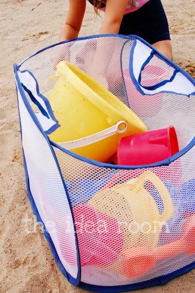 Sand toys bag