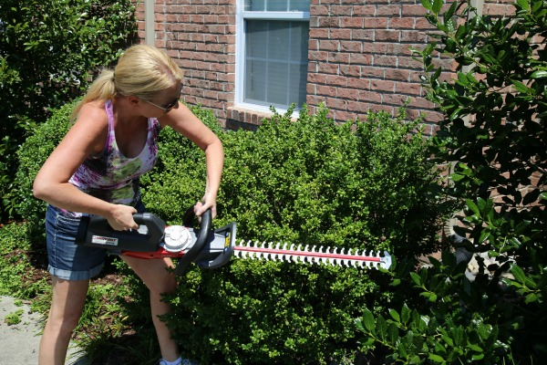 Troy-Bilt Cordless Hedge Trimmer