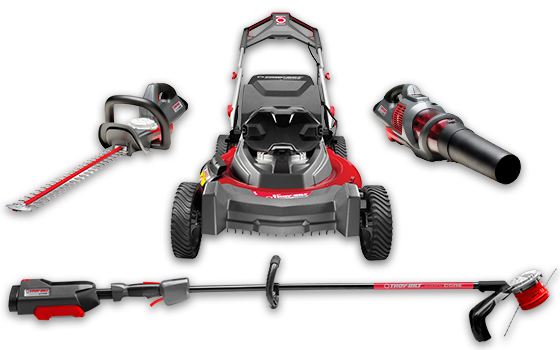 Troy-Bilt Powered by CORE product line