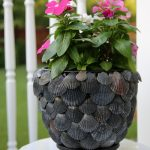 DIY Shell Planter