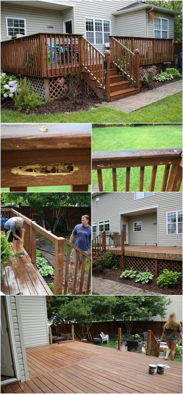 Deck Before Pics