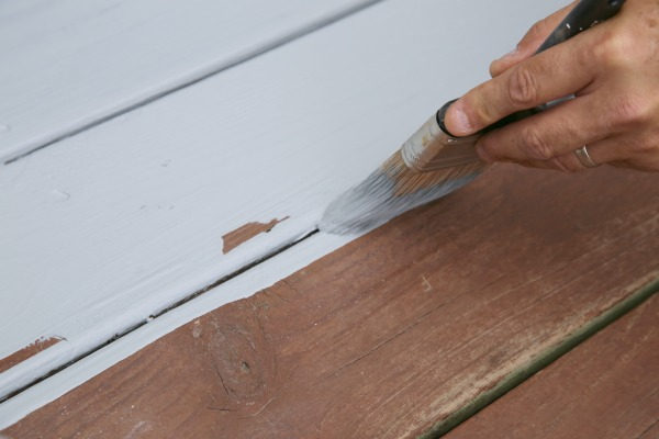 Staining a Deck with Opaque Stain
