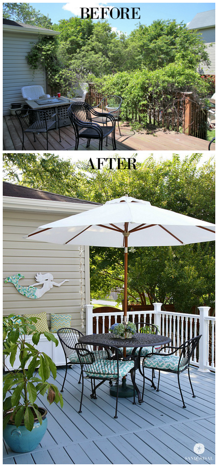 Total Deck Makeover - Sand and Sisal