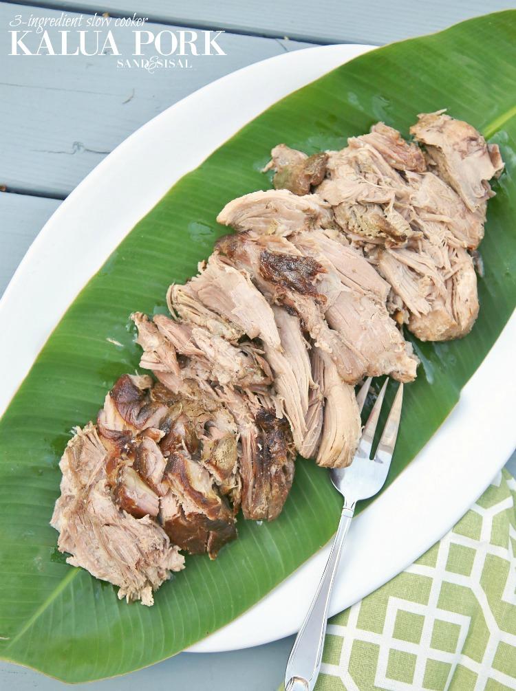 3-Ingredient Slow Cooker Kaula Pork