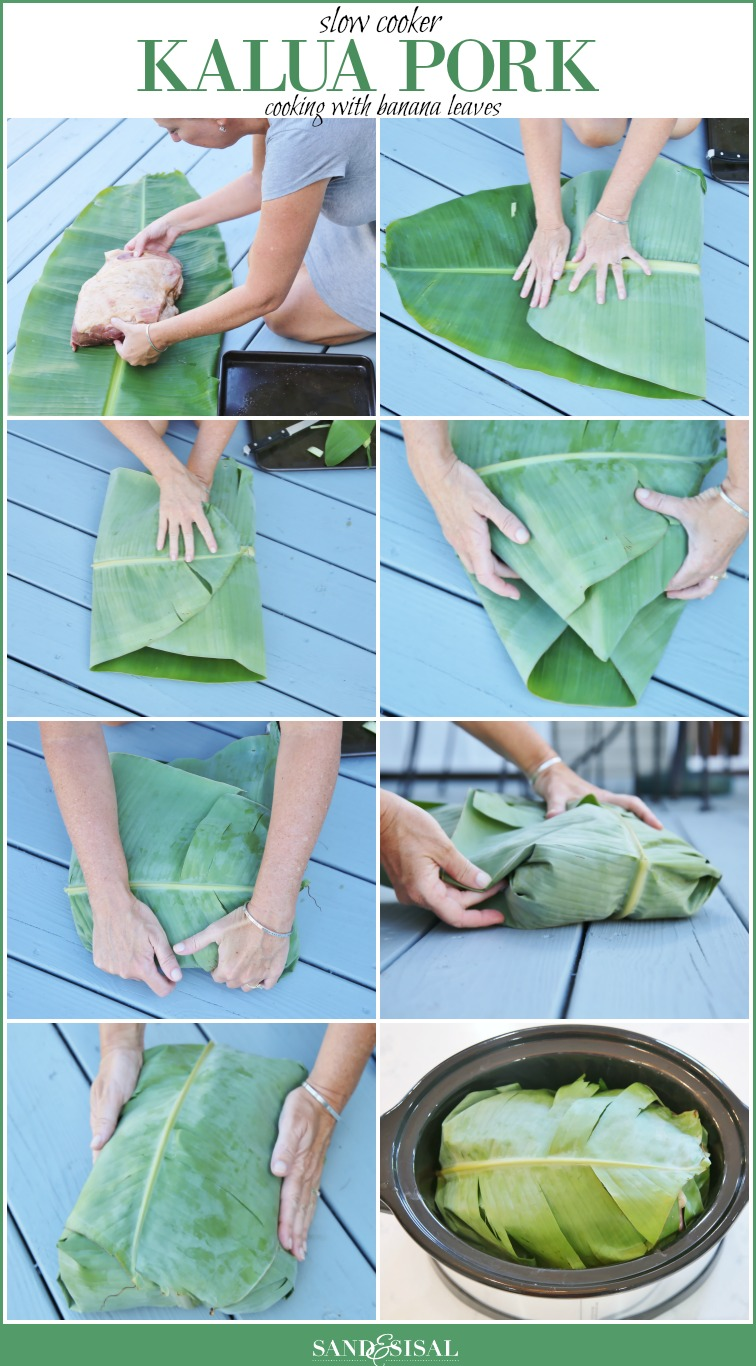 Cooking with Banana Leaves - Kalua Pork
