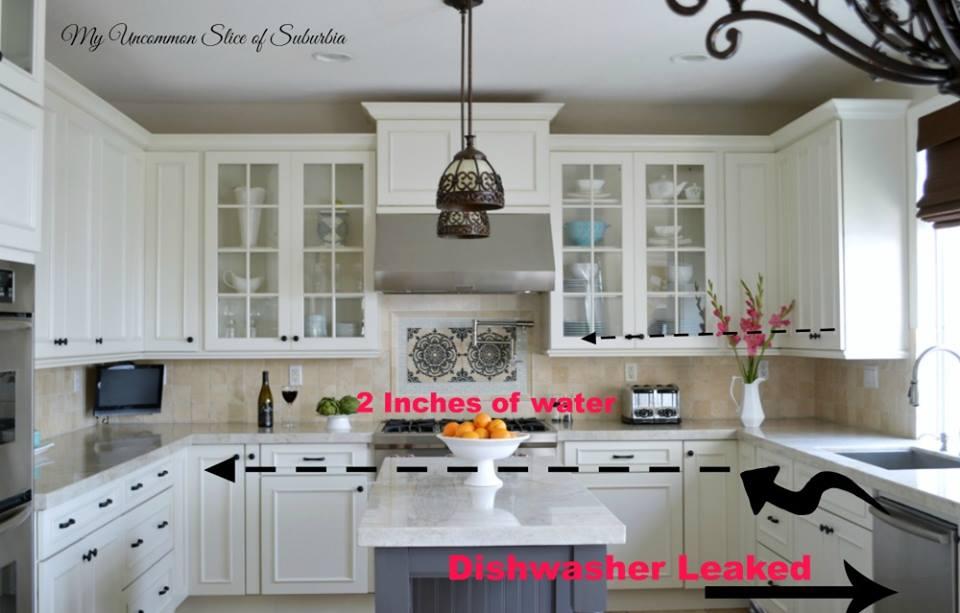 Dishwasher leak - Kristin