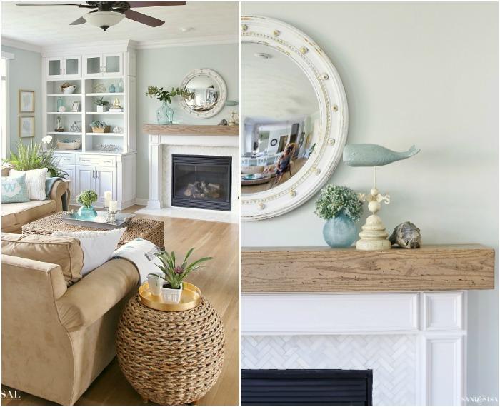 Kim's collage of familyroom
