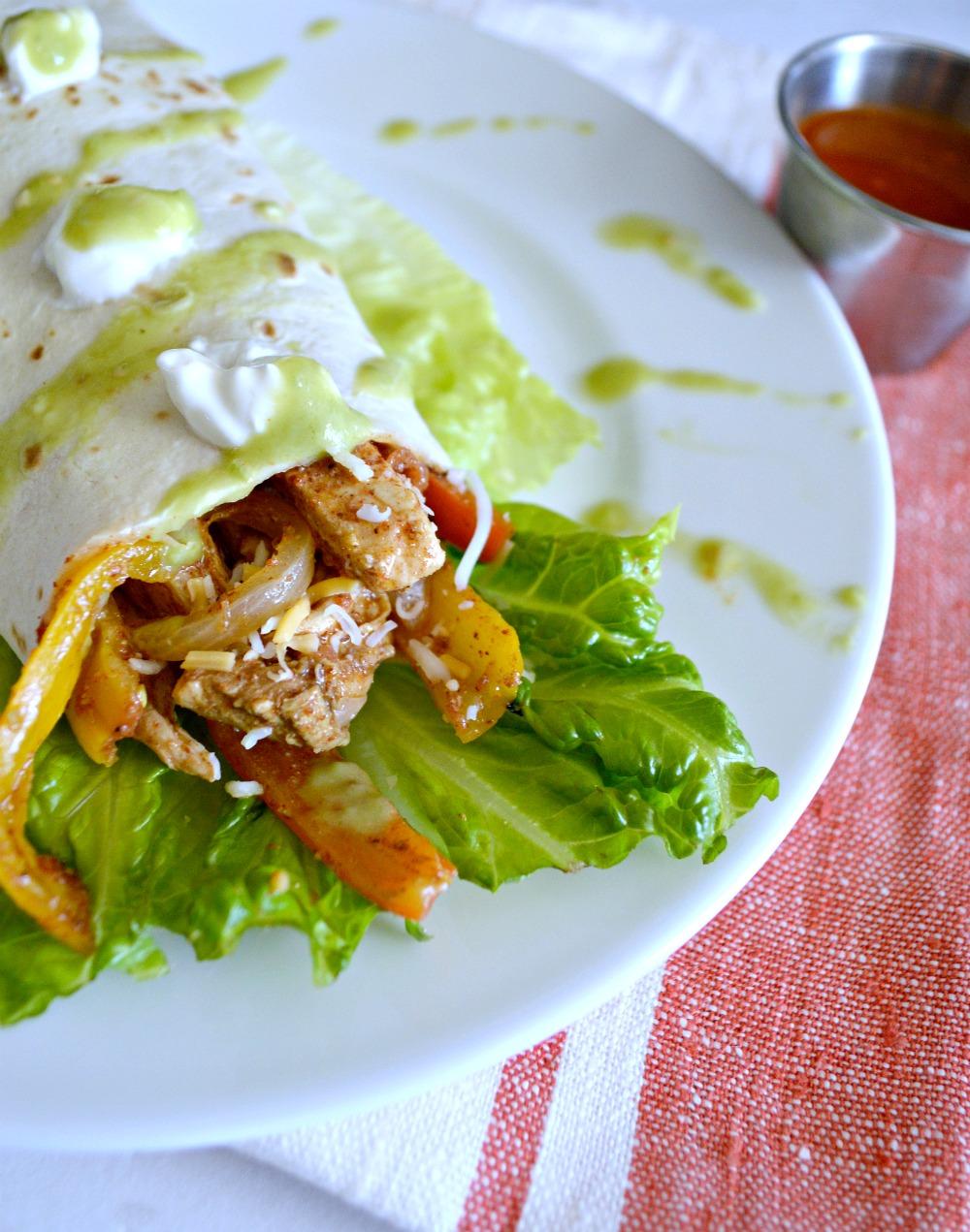 One Dish Easy Fajita Recipe