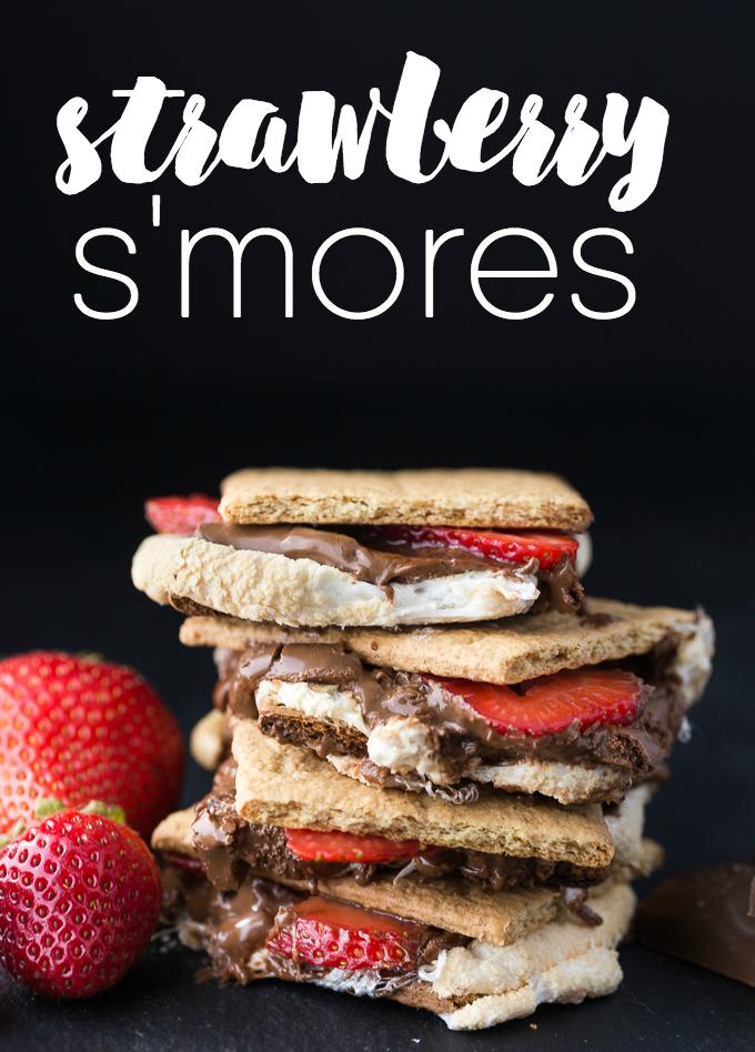 strawberry-smores