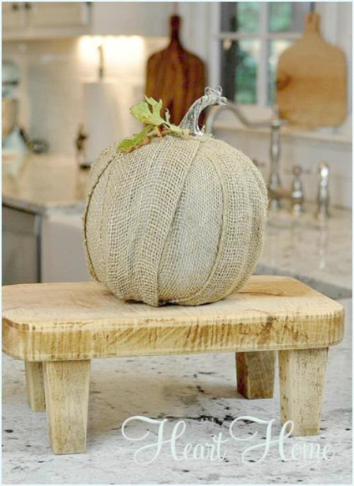 burlap-pumpkin-craft