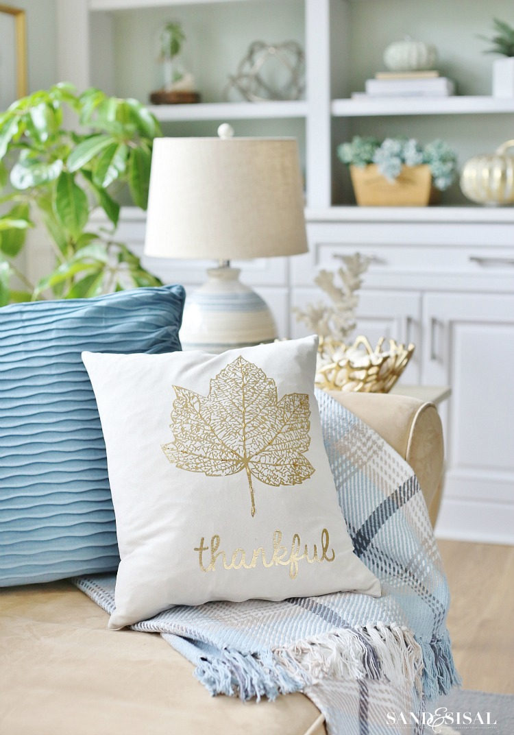 Home goods decorative pillow - Coastal Fall Decor