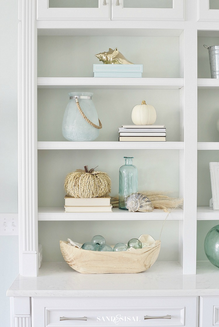 Coastal Fall Decorating - Home Tour