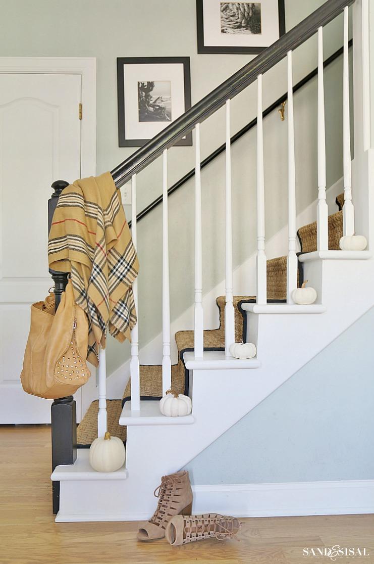 Fall Decor - Staircase