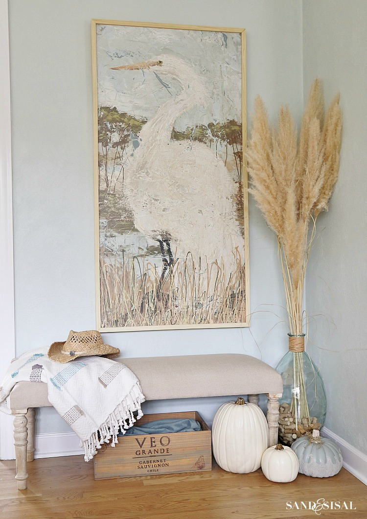 Fall Home Tour - Coastal Style