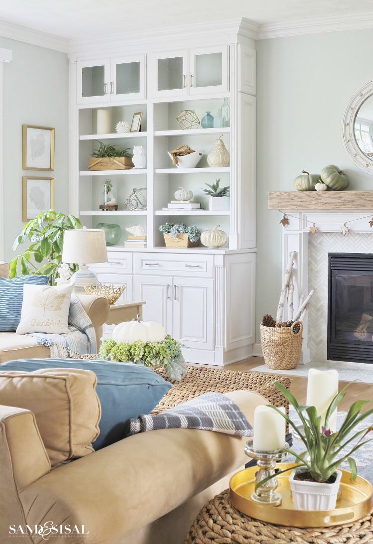 Coastal Fall Home Tour
