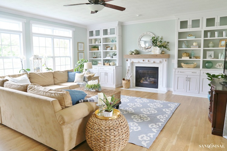 Sand and Sisal Coastal Fall Home Tour