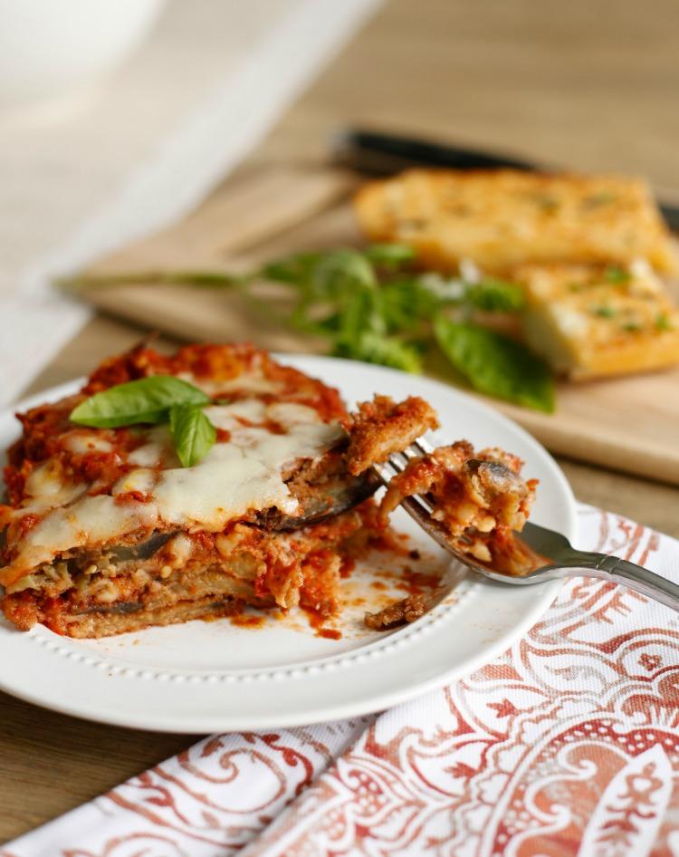 Michaelangelo's eggplant-parmesan
