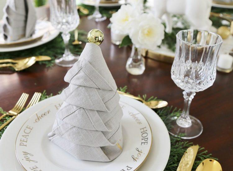 Christmas Dinner Tablesetting Ideas