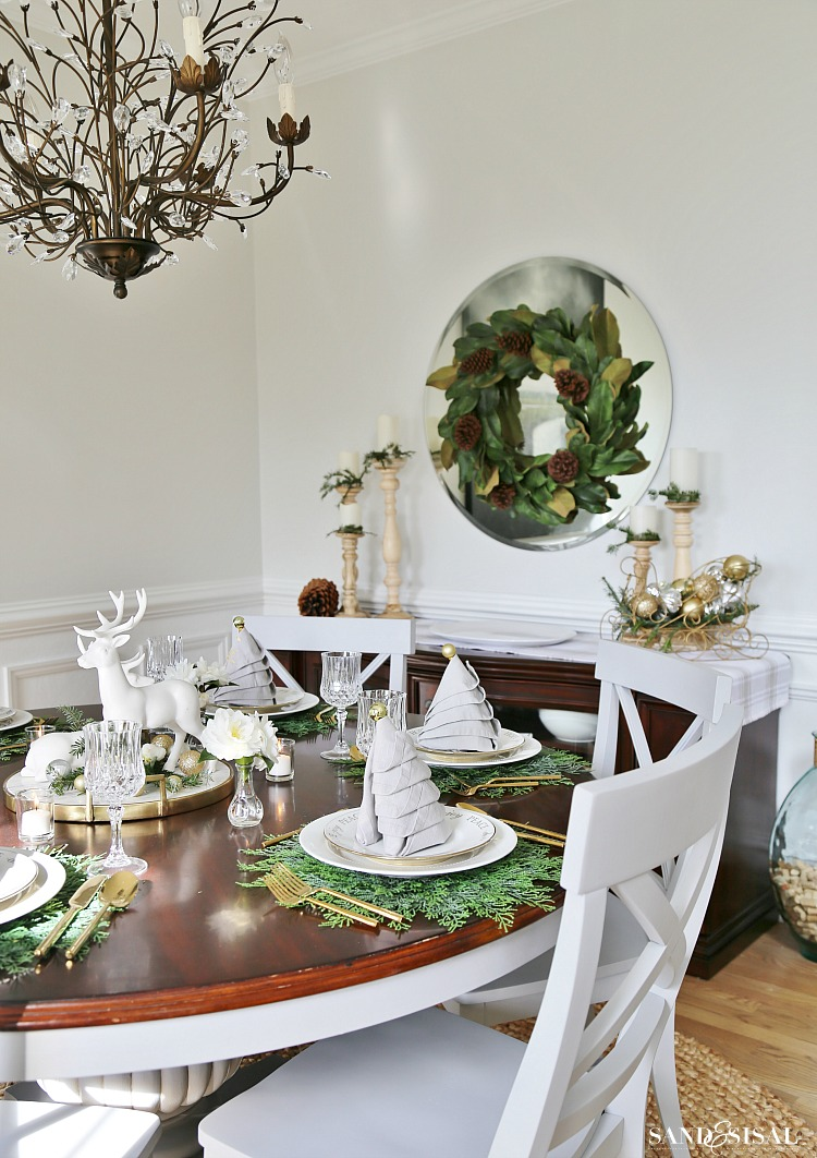 christmas-tablesetting-idea-with-christmas-and-dining-room : table setting for christmas - pezcame.com