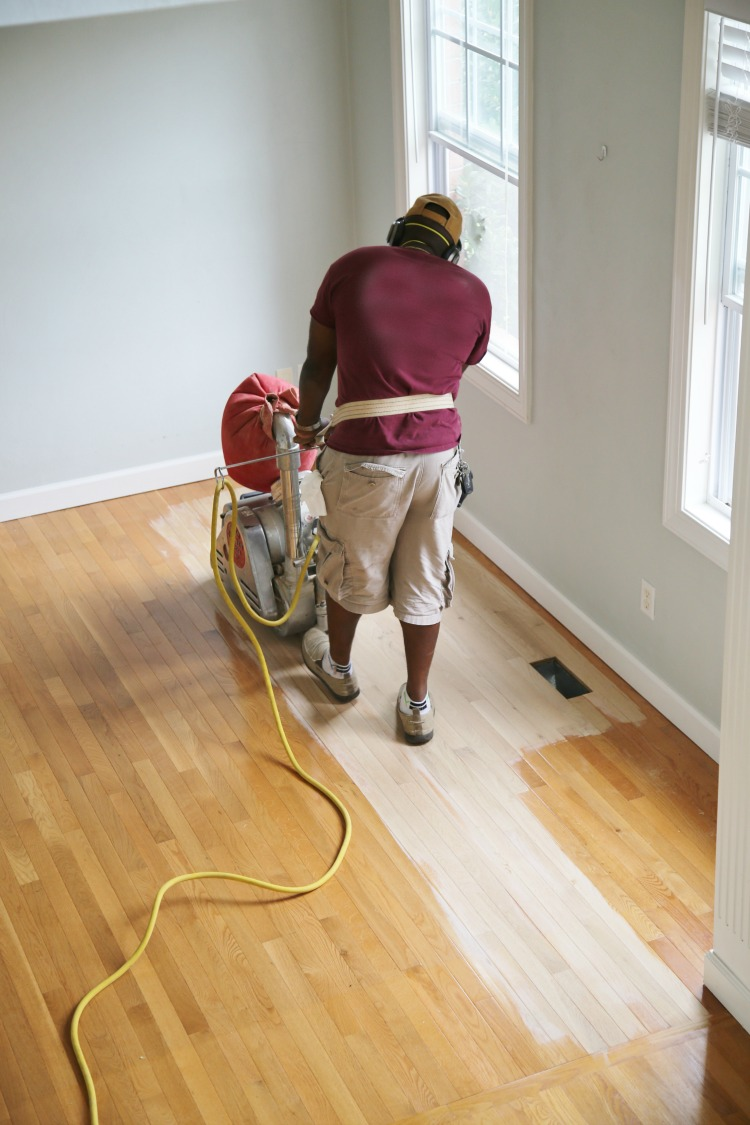 Refinishing Hardwood Flooring After Sanding