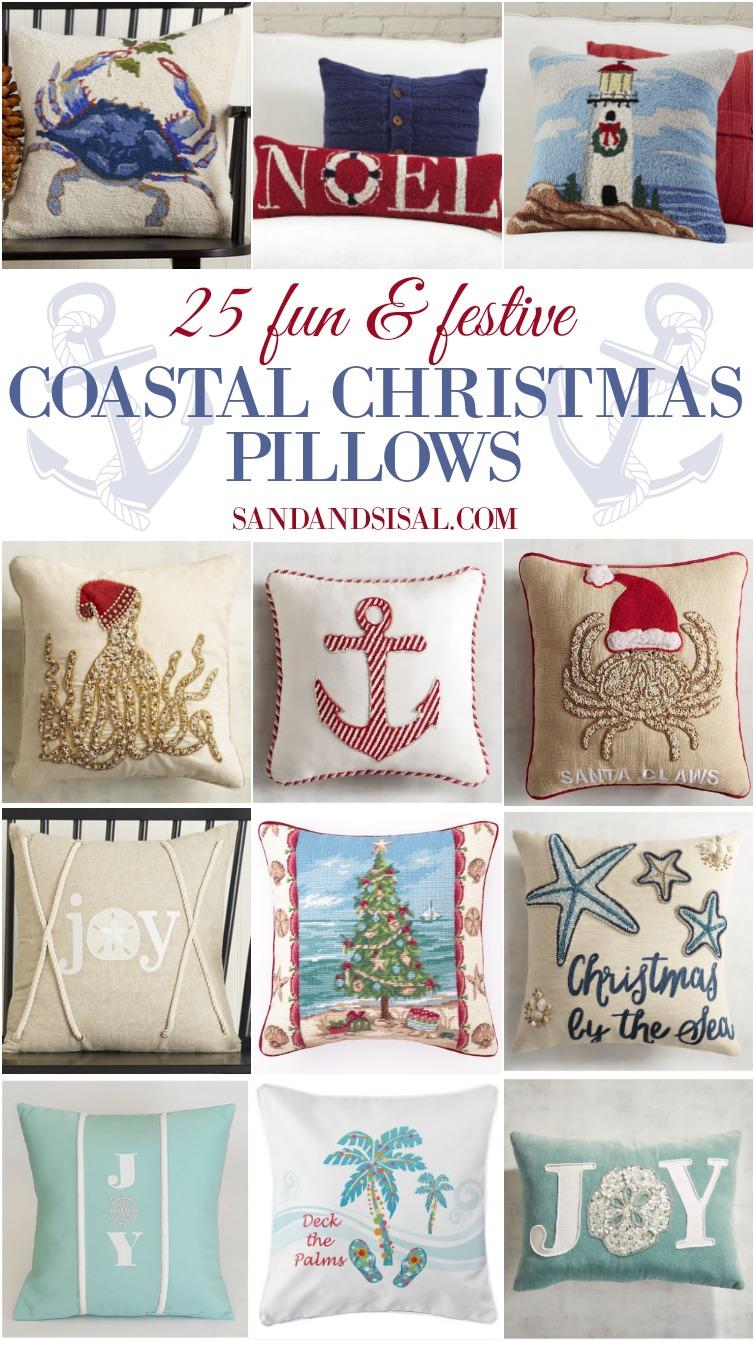 Christmas Lumbar Pillows