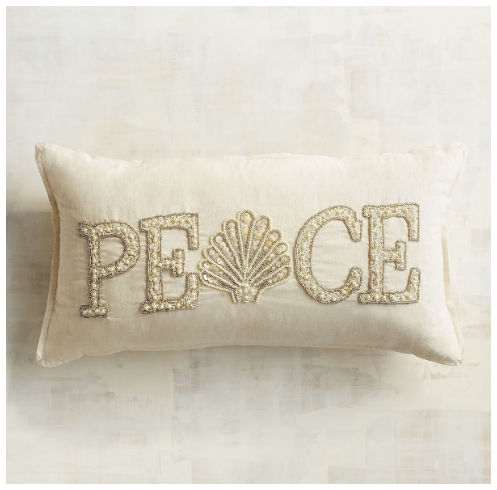 beaded-peace-shell-pillow