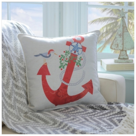 25 Festive Coastal Christmas Pillows Sand And Sisal