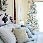 Classic Coastal Christmas Bedroom