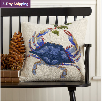 mistletoe-blue-crab-pillow