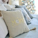 25+Coastal Christmas Pillows + Giveaway!