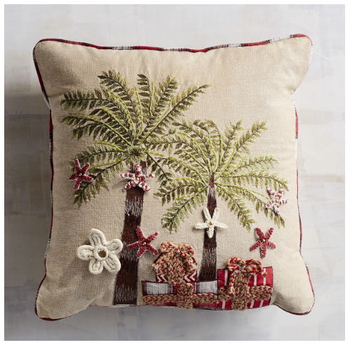 palm-trees-with-presents-pillow