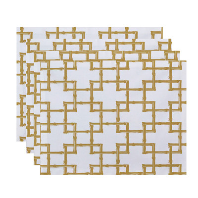 Gold Bamboo Placemats