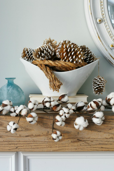 Cozy Winter Mantel – Easy Winter Decorating Ideas