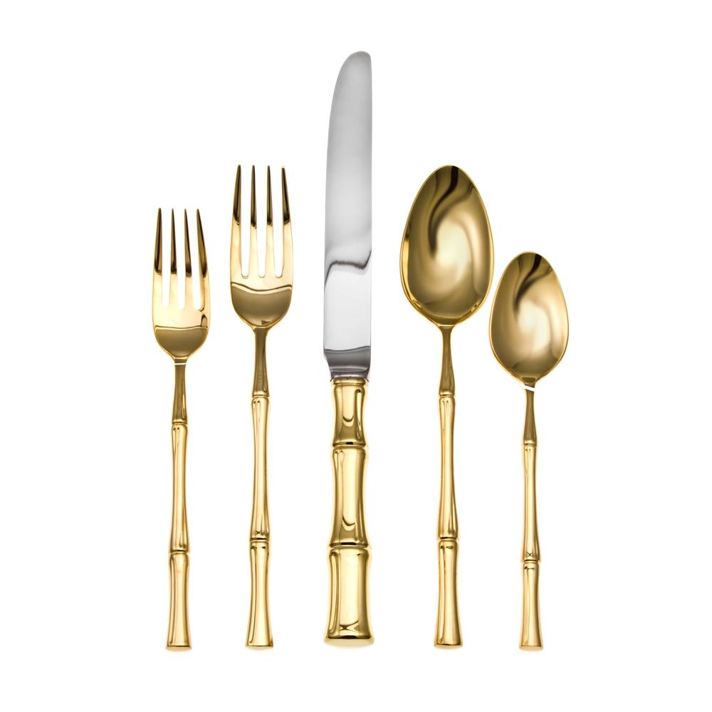 gold-bamboo-flatware