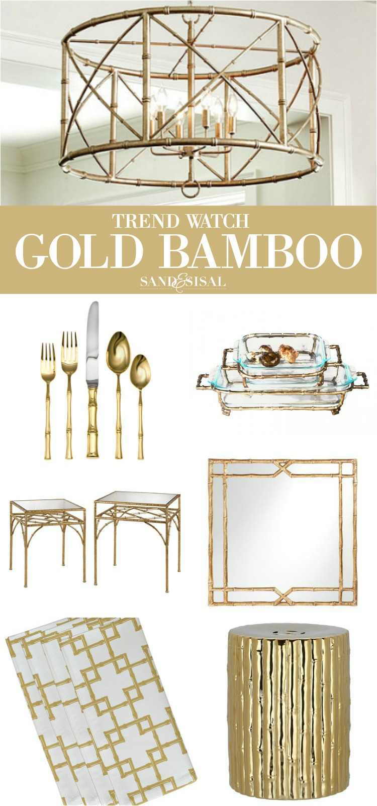 Trend Watch - Gold Bamboo