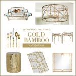 Trend Watch Wednesday - Gold Bamboo