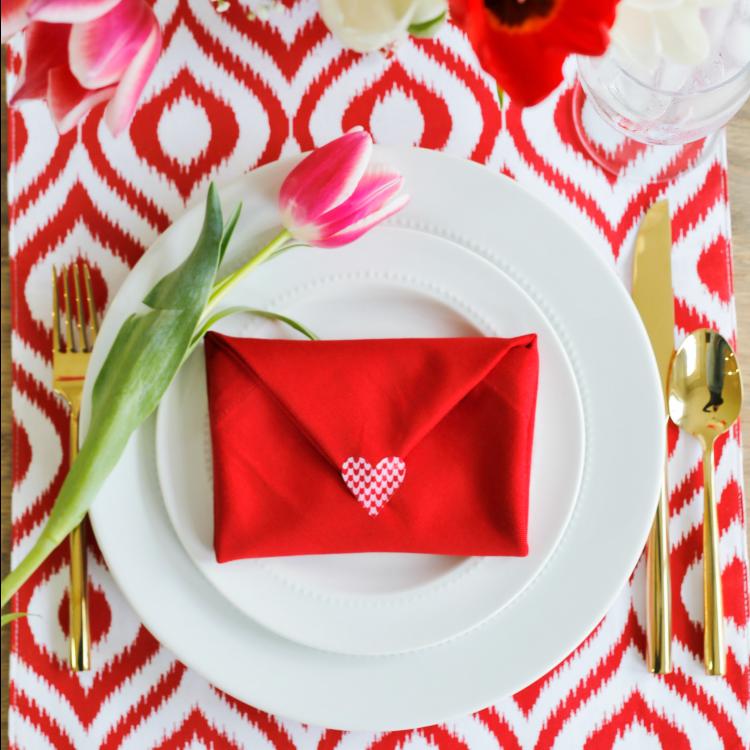 Valentine Envelope Napkin Fold Video Tutorial Sand Amp Sisal