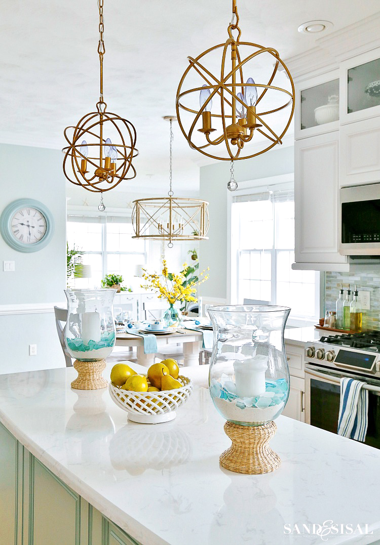 Coastal-Kitchen-Easter-Tablescape