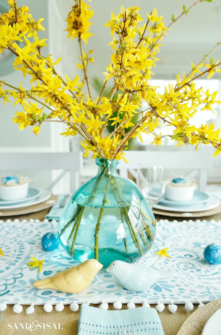 forsythia-easter-centerpiece