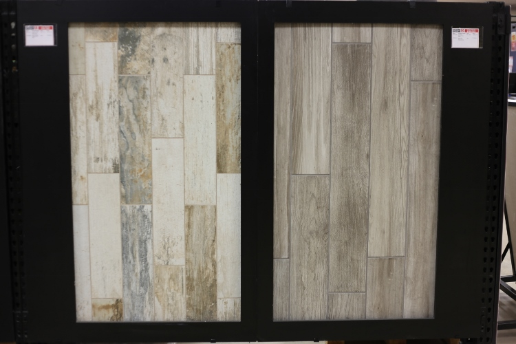 wood plank porcelain tiles