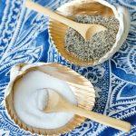 Gilded Seashell Salt and Pepper Cellars-fb
