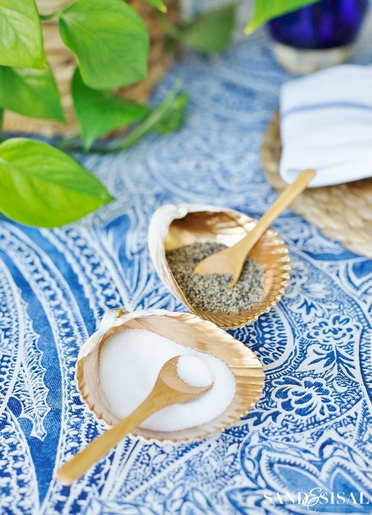 Seashell Salt Cellars