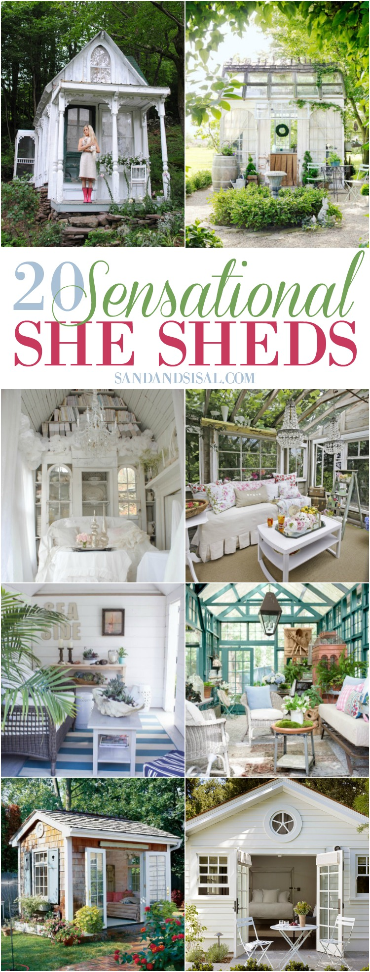 20 Sensational She Shed Ideas