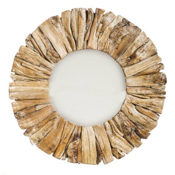 Beachcrest Home Driftwood Mirror