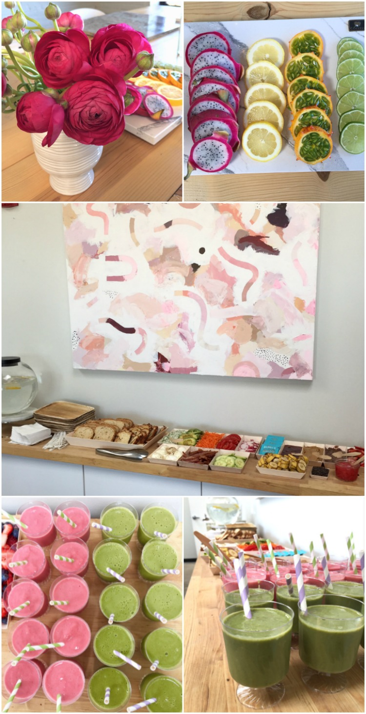 Bruch Idea: Toast and Smoothie Bar