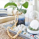 Easy Coastal Craft – DIY Wood Bead Strand