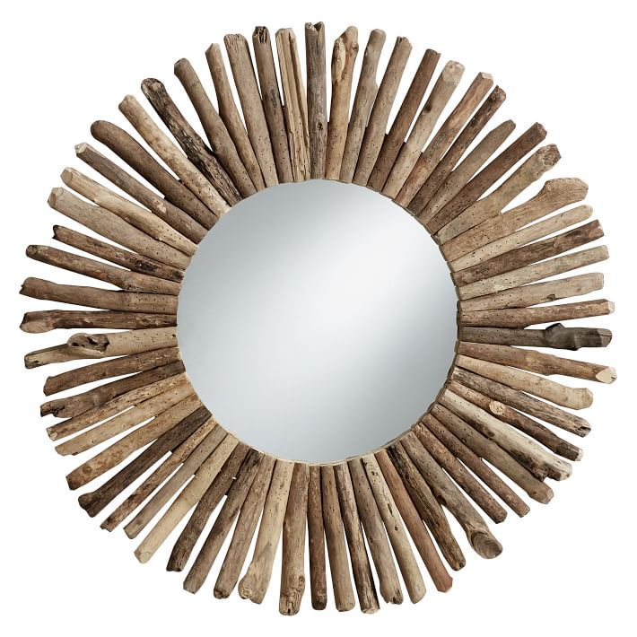Driftwood Stick Mirror