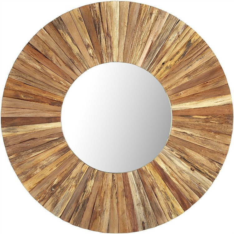 Eternal Natural Wood Mirror
