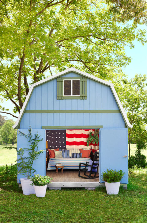 Patriotic She Shed