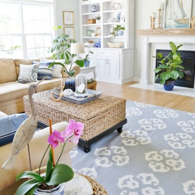 Coastal Design - Family Room